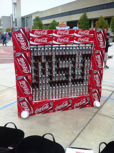 MSU Coca-Cola Etch A Sketch